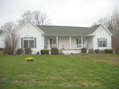 Spencer County Single Family Home For Sale: 4258 W County Road 200 S