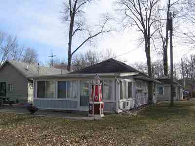 North Webster Single Family Home For Sale: 70 Ems W16 Lane