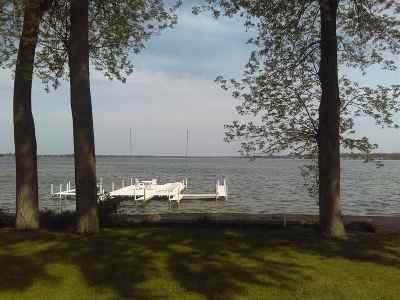 Kosciusko County Single Family Home For Sale: 6077 E Island Avenue #Pier 719