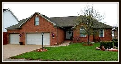 Newburgh Single Family Home For Sale: 8826 Calvin Circle