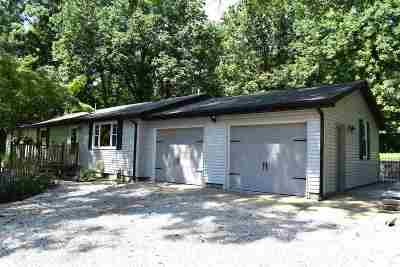 Boonville Single Family Home For Sale: 2655 Brown Chapel Road