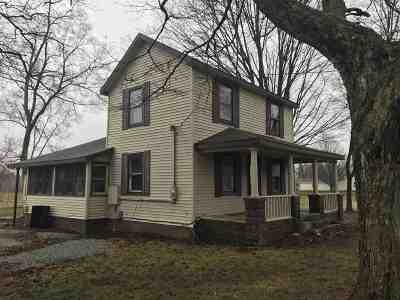 Plymouth IN Single Family Home For Sale: $101,000