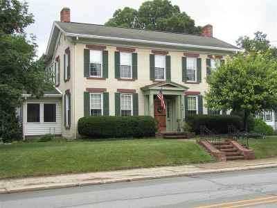 Wabash Single Family Home For Sale: 414 N Wabash