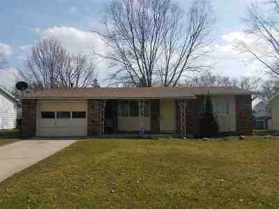 Allen County Single Family Home For Sale: 8230 Wyoming