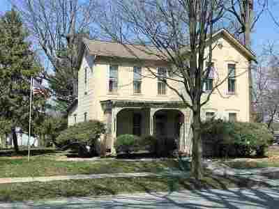 Fairmount Single Family Home For Sale: 309 N Main St Street