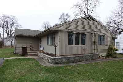 Wabash Single Family Home For Sale: 225 E Harrison Avenue