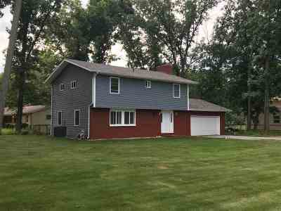 St. Joseph County Single Family Home For Sale: 53449 Ba J Er