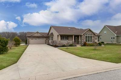 Elkhart Single Family Home For Sale: 24865 Walton Drive South