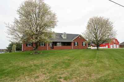 Newburgh Single Family Home For Sale: 6422 Vann Rd.