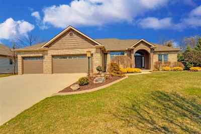 Fort Wayne Single Family Home For Sale: 13124 Jonus Boulevard