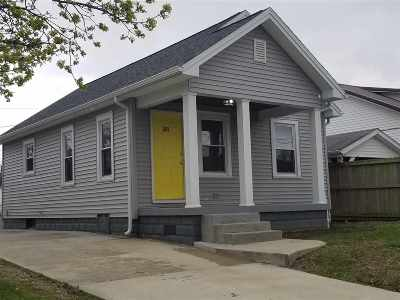 Evansville Single Family Home For Sale: 2517 N Lafayette Avenue
