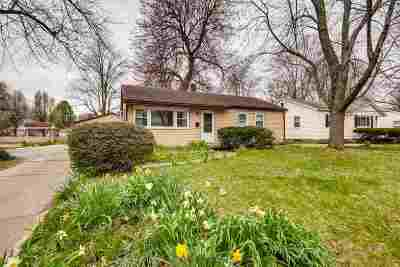 Evansville Single Family Home For Sale: 1625 Conlin Avenue