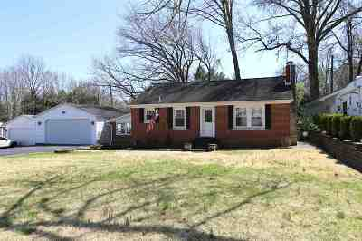 Evansville Single Family Home For Sale: 507 Rosewood Drive