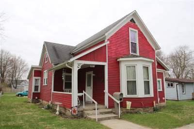 Wabash Single Family Home For Sale: 353 Wilson Street