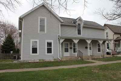 Kendallville Multi Family Home For Sale: 121 - 123 S State Street