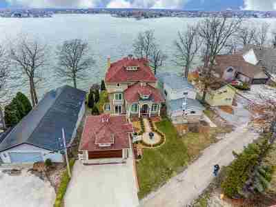 Steuben County Single Family Home For Sale: 640 Ln 150h Hamilton Lake