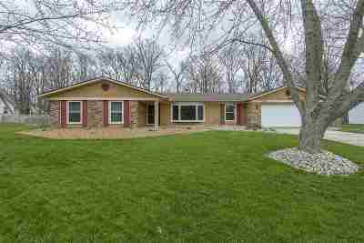 Fort Wayne Single Family Home For Sale: 5209 Arrowhead Pass