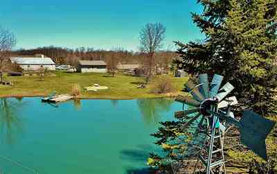 Allen County, Kosciusko County, Noble County, Whitley County Single Family Home For Sale: 6302 Schlatter Road