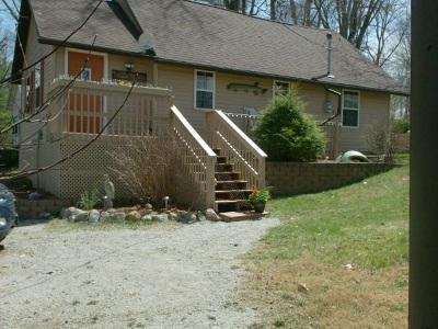 Angola Single Family Home For Sale: 555 Lane 130 Fox Lake