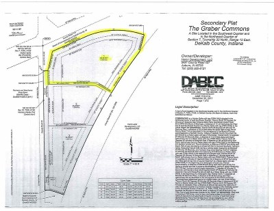Dekalb County Commercial Lots & Land For Sale: Lot 1 County Rd 427