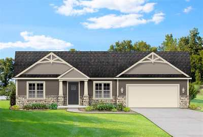 St. Joseph County Single Family Home For Sale: 33911 Prairie Knolls Drive #Lot 33