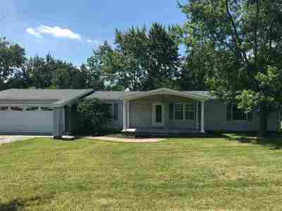 Wabash Single Family Home For Sale: 3466 E 250 S Lot #1
