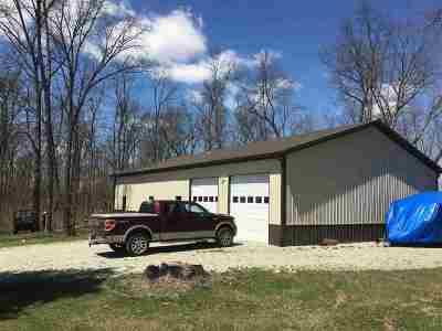 Pierceton Single Family Home For Sale: 8780 E 350N