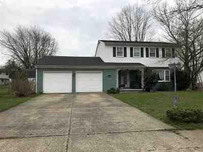 Marion Single Family Home For Sale: 1007 W Milborn Street