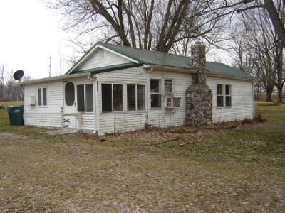 Angola Single Family Home For Sale: 1845 W Fox Lake Rd