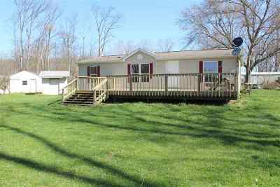 Lagrange IN Manufactured Home For Sale: $88,900