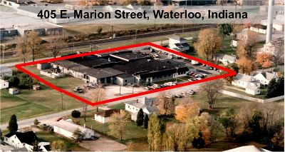 Waterloo Commercial For Sale: 405 E Marion