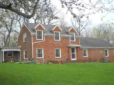 Marion Single Family Home For Sale: 3012 Shildmyer Rd.