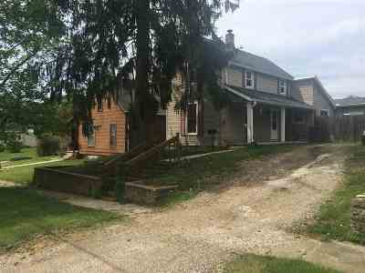 Wabash Single Family Home For Sale: 816 Erie St
