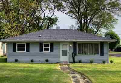 Marion Single Family Home For Sale: 1502 W 10th