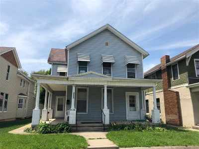 Fort Wayne Multi Family Home For Sale: 1206 Fairfield Avenue