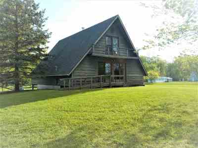 Steuben County Single Family Home For Sale: 40 Ln 105 C Turkey Lake