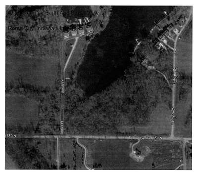 Lagrange County, Noble County Residential Lots & Land For Sale: E 850