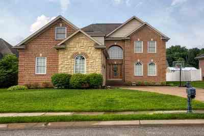 Evansville Single Family Home For Sale: 2449 Gavins Lane