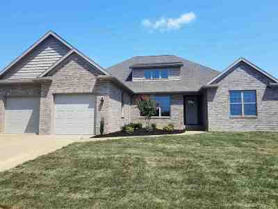 Evansville Single Family Home For Sale: 1226 Ladbrooke Drive