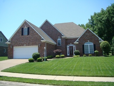 Evansville Single Family Home For Sale: 2624 Thornhill Drive