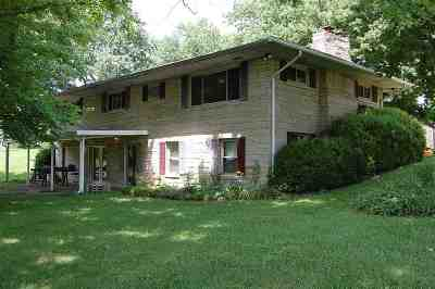 Boonville Single Family Home For Sale: 904 State Road 261