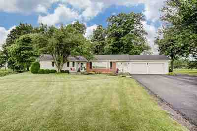 Wabash Single Family Home For Sale: 1906 N 100 W
