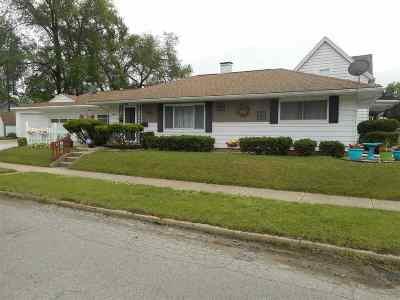 South Bend Single Family Home For Sale: 2506 Wall Street