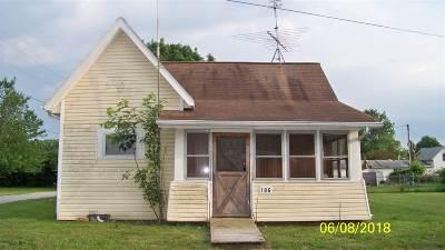 Van Buren Single Family Home For Sale: 106 E Park Street