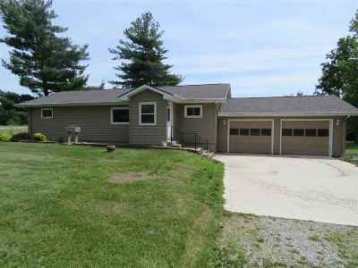 Noble County Single Family Home For Sale: 1968 S Lima Rd.