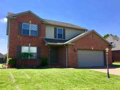 Evansville Single Family Home For Sale: 5920 Winnett Drive