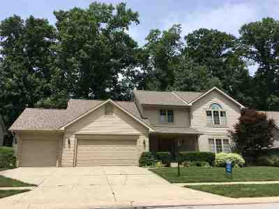 Fort Wayne Single Family Home For Sale: 8912 Sandpiper Court