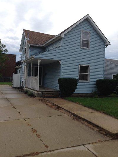 St. Joseph County Single Family Home For Sale: 212 S Virgil