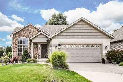 St. Joseph County Single Family Home For Sale: 53123 Wildlife Drive