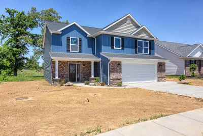 Evansville Single Family Home For Sale: 1020 Tess Drive